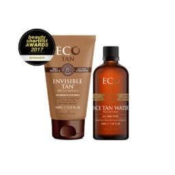 invisible tan face tan water